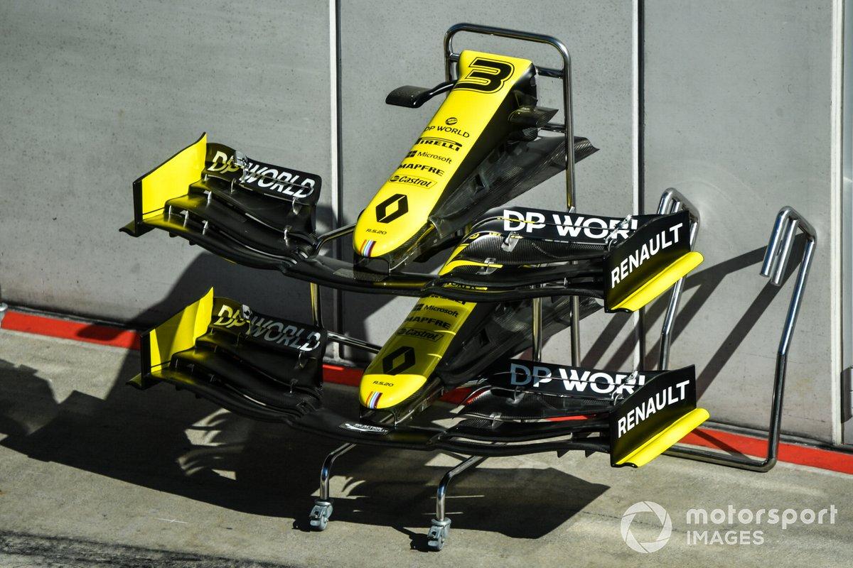 Los conos de nariz de Renault