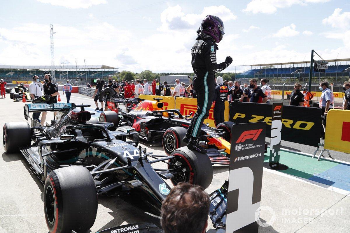 La 91ª llegó en Silverstone, superando a un Valtteri Bottas que dominó el fin de semana hasta el momento y endosando más de un segundo al resto...