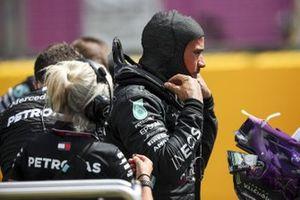 Льюис Хэмилтон, Mercedes-AMG F1, на стартовой решетке