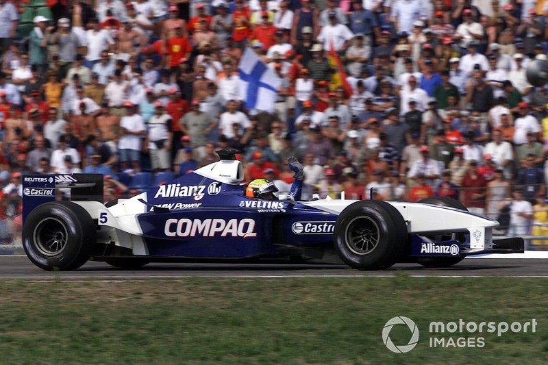 Ralf Schumacher, 1 ocasión ganador del GP de Alemania