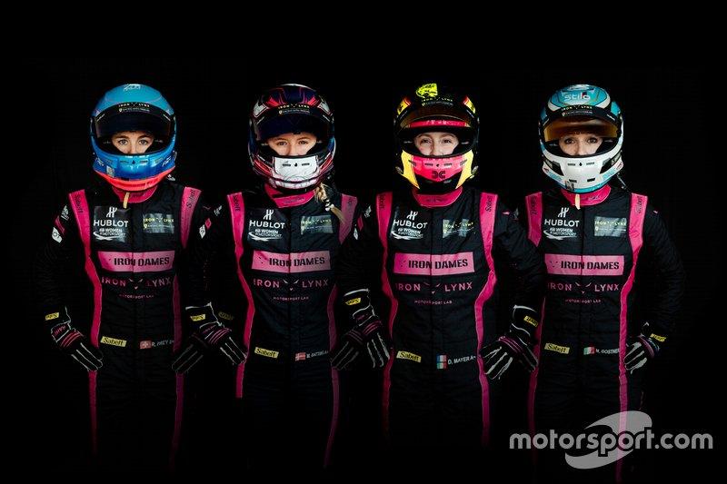 Deborah Mayer, Manuela Gostner, Rahel Frey, Michelle Gatting, Iron Lynx, Ferrari 488 GTE