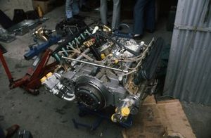 Engine from Derek Bell's Tecno PA123