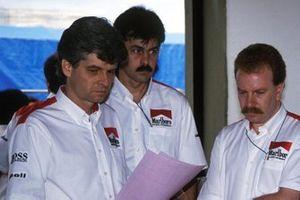 Стив Николз, Гордон Марри и Нил Отли, McLaren