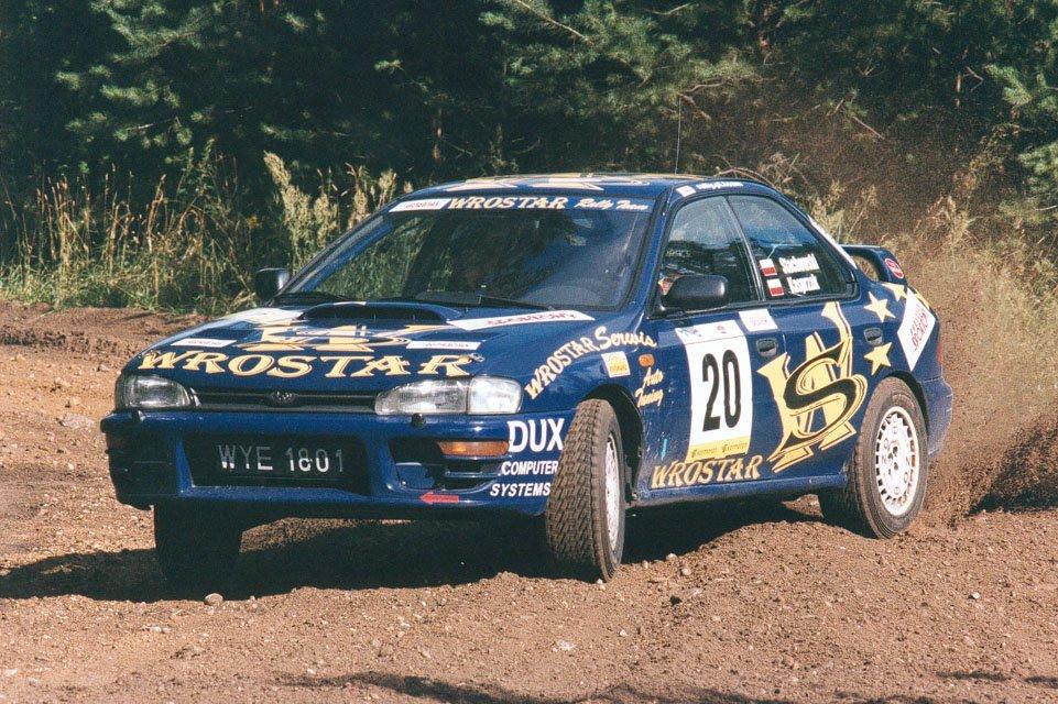 Janusz Stachowski, Remigiusz Kasprzak, Subaru Impreza WRX