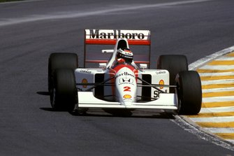 Gerhard Berger, McLaren MP4/7A