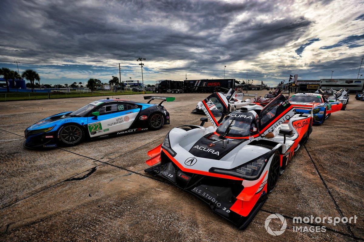 #7 Acura Team Penske Acura DPi, DPi: Helio Castroneves, Ricky Taylor, #22 Gradient Racing Acura NSX GT3, GTD: Till Bechtolsheimer, Marc Miller