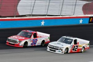 Brennan Poole, On Point Motorsports, Toyota Tundra RememberEveryoneDepoloyed.org and Ross Chastain, Niece Motorsports, Chevrolet Silverado