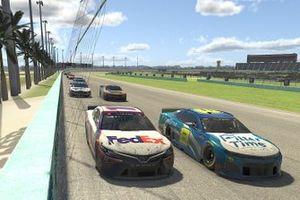 Denny Hamlin, Dale Earnhardt Jr.