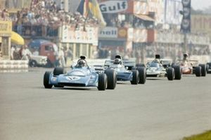 Chris Amon, Matra MS120B, Francois Cevert, Tyrrell 002 Ford, Mike Hailwood, Surtees TS9, Ronnie Peterson, March 711 Ford