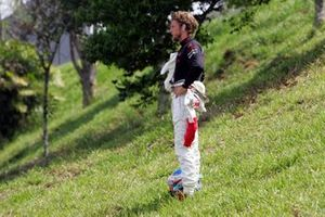 Jenson Button, Honda Racing F1 Team regresa caminando