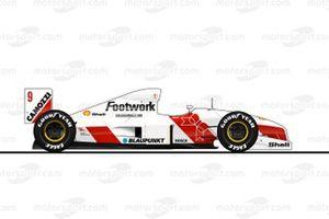 Footwork, Porsche FA12