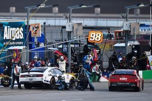 Chase Briscoe, Stewart-Haas Racing, Ford Mustang Ford Performance Racing School, Jesse Little, JD Motorsports, Chevrolet Camaro KSDT CPA