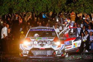 Элфин Эванс и Скотт Мартин, Toyota Yaris WRC