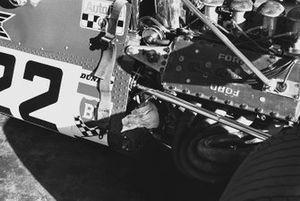 Dettagli De Tomaso 505/38-Ford, GP del Sud Africa del 1970