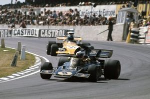 Dave Walker, Lotus 72D Ford, Mike Beuttler, March 721G Ford