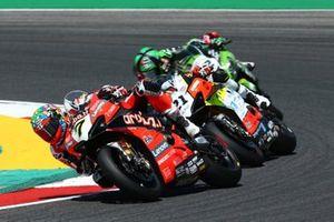 Chaz Davies, ARUBA.IT Racing Ducati, Michael Ruben Rinaldi, Team Goeleven