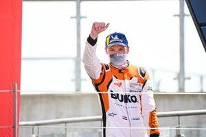 Larry ten Voorde, Team GP Elite on the podium