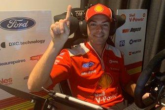 Race 1 winner Scott McLaughlin