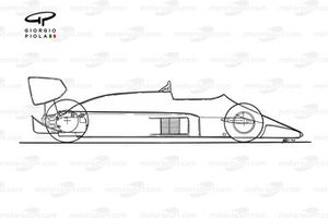Lotus 99T outline