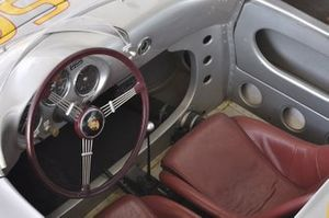 1954 Porsche 550 Spyder steering wheel