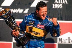 Ganador Michael Schumacher, Benetton Renault