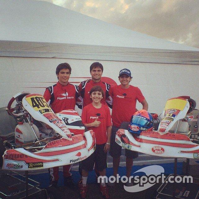 Pedro, Nelsinho, Pietro Fittipaldi e Enzo Fittipaldi