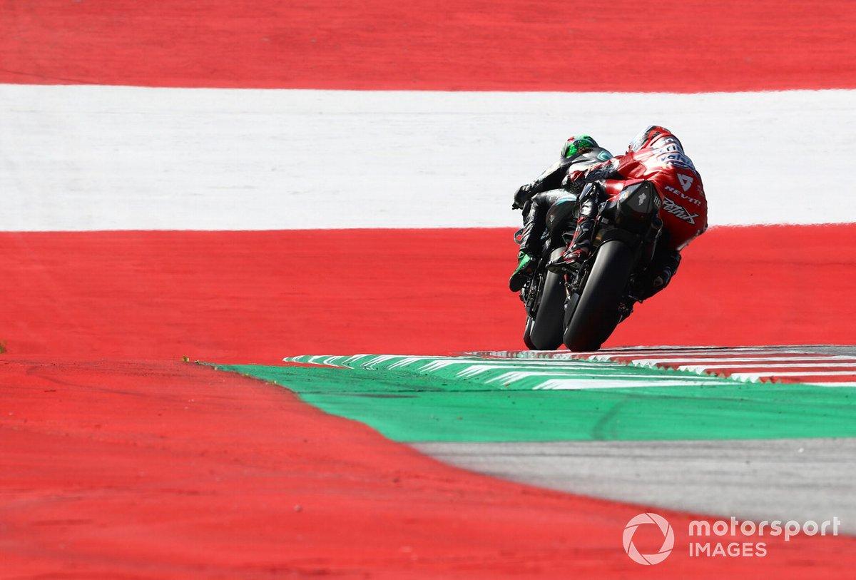 Franco Morbidelli, Petronas Yamaha SRT , Danilo Petrucci, Ducati Team
