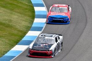 Joe Graf Jr, SS Green Light Racing, Chevrolet Camaro Bucked Up Energy and Michael Annett, JR Motorsports, Chevrolet Camaro AHA/Pilot Flying J