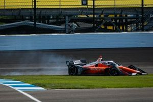 James Hinchcliffe, Andretti Autosport Honda goes off track