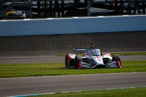 Marco Andretti, Andretti Herta with Marco & Curb-Agajanian Honda goes off track