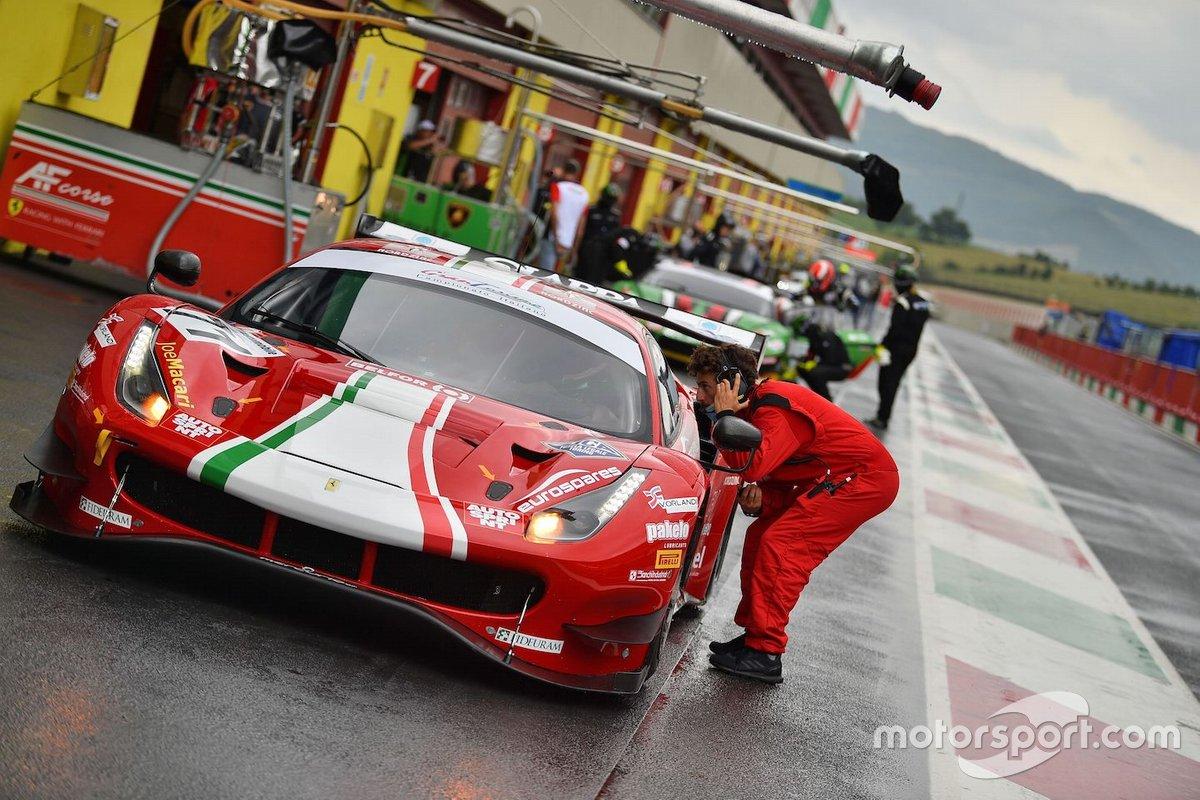 Roda Giorgio, Rovera Alessio, Fuoco Antonio, Ferrari 488 GT3 #71, AF Corse