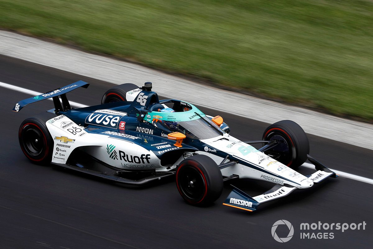 #66 Ruoff Mortgage Arrow McLaren SP Chevrolet (2020)