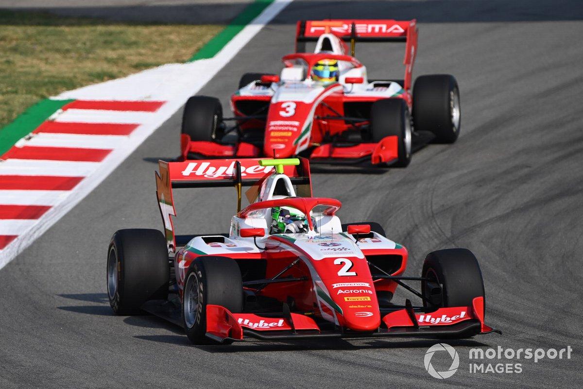 Frederik Vesti, Prema Racing, Logan Sargeant, Prema Racing