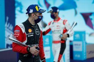 Sébastien Buemi, Nissan e.Dams celebrates on the podium