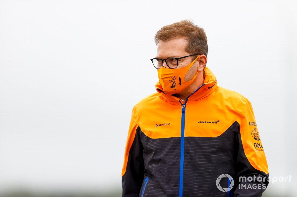 Andreas Seidl, jefe del equipo McLaren