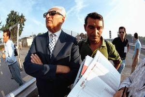 Энцо Феррари и Франко Лини