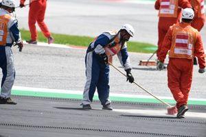 Johann Zarco, Avintia Racing crash