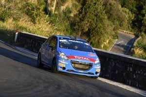 Alessandro Casella, Rosario Siragusano, MM Motorsport, Peugeot 208 R2