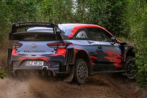 Thierry Neuville y Ott Tänak, Hyundai i20 Coupe WRC