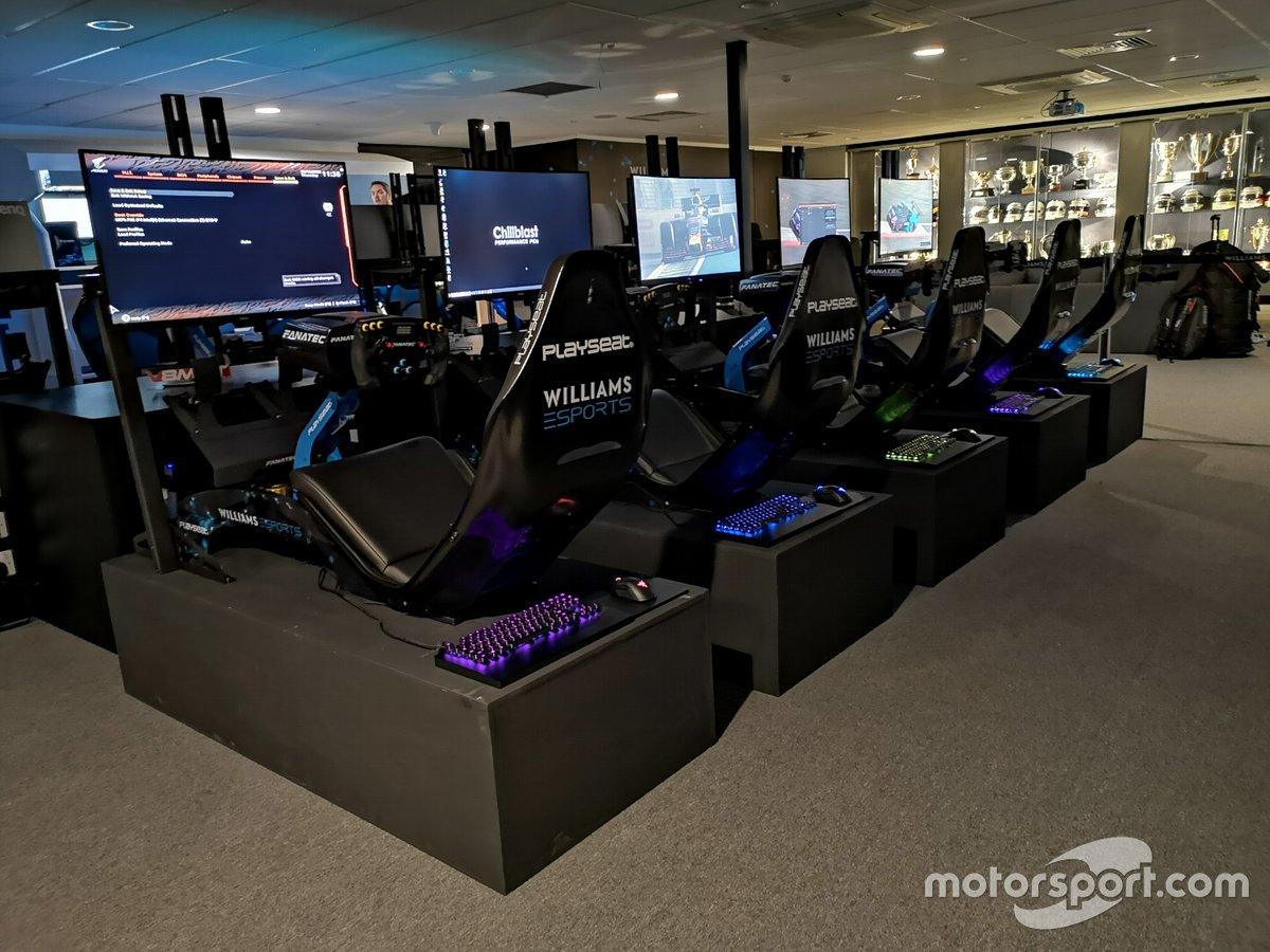 El Williams Esports Lounge, una sede lujosa para un equipo de Esports