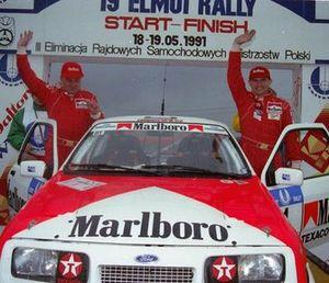 Marian Bublewicz, Ryszard Żyszkowski, Ford Sierra RS Cosworth