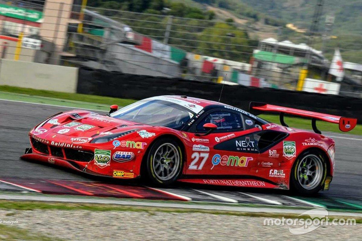 Stefano Gai, Antonio Fuoco, AF Corse, Ferrari 488 GT3