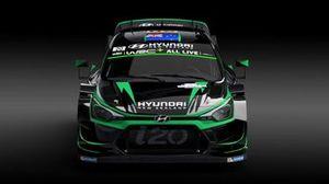 Hayden Paddon, John Kennard, Hyundai i20 Coupe WRC