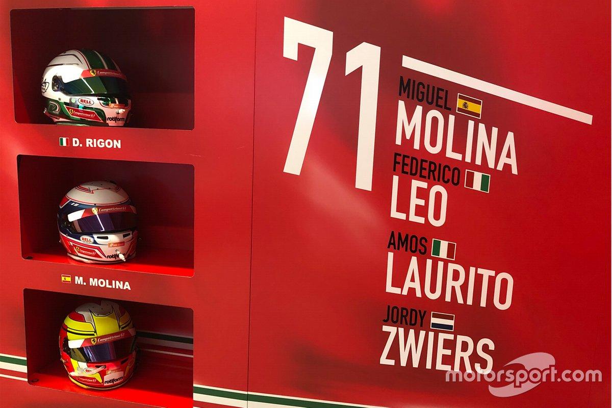Preparación en Ferrari para las 24h de Le Mans virtuales