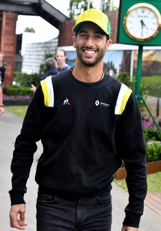 Daniel Ricciardo, Renault F1 Team in the paddock