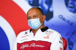 Frederic Vasseur, Team Principal, Alfa Romeo Racing, in the team principals Press Conference