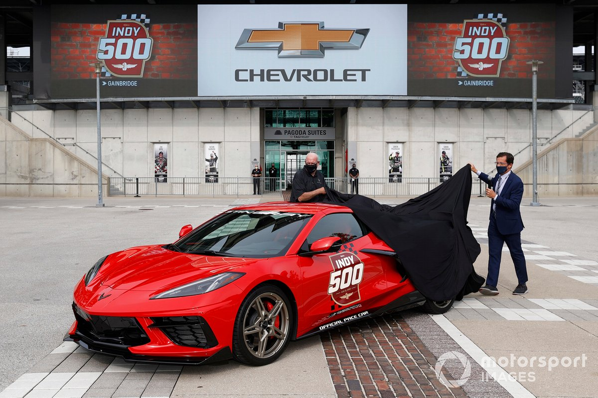 Chevrolet Corvette Pace Car unveiling
