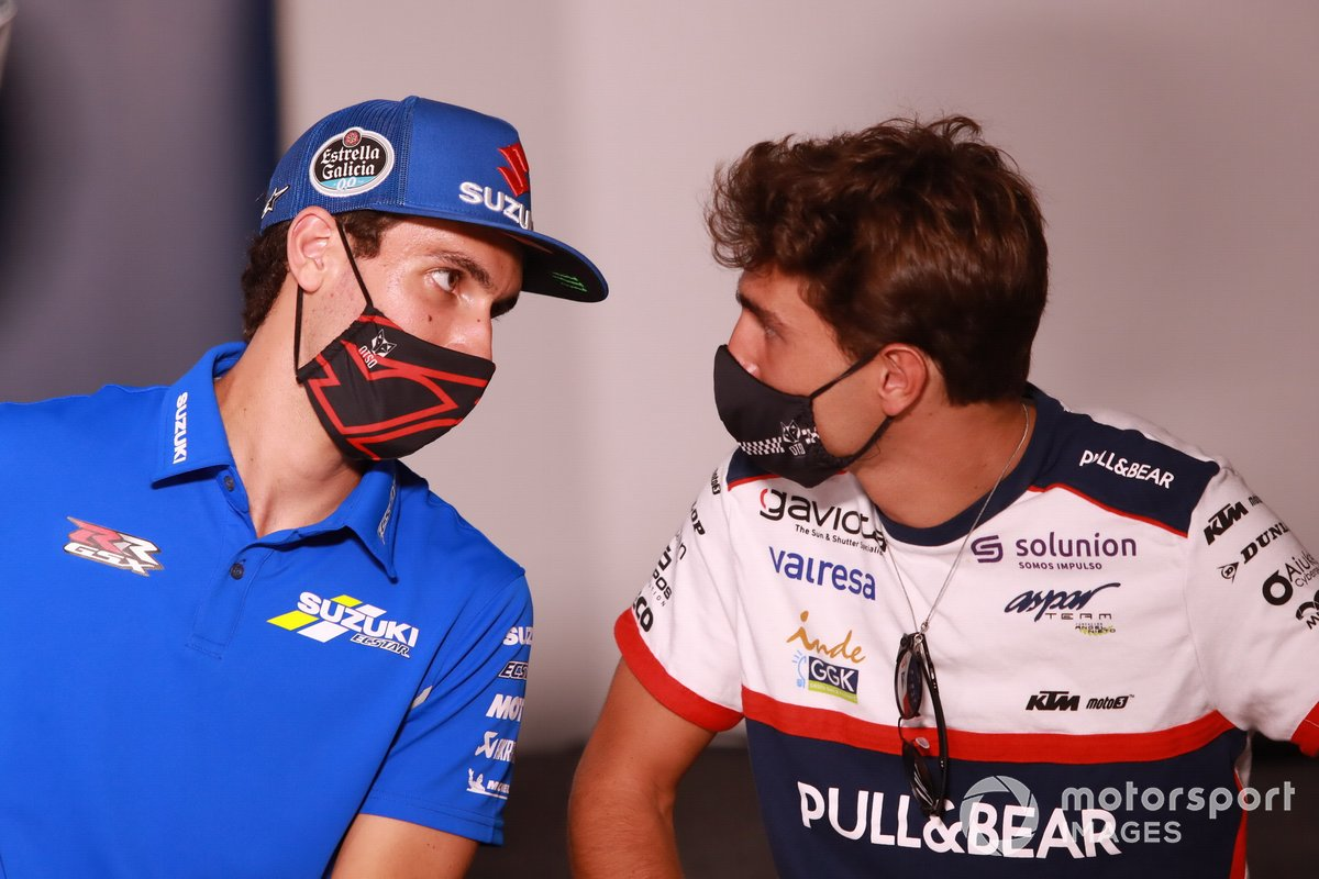 Alex Rins, Team Suzuki MotoGP, Albert Arenas, Albert Arenas, Solunion Aspar Team Moto3