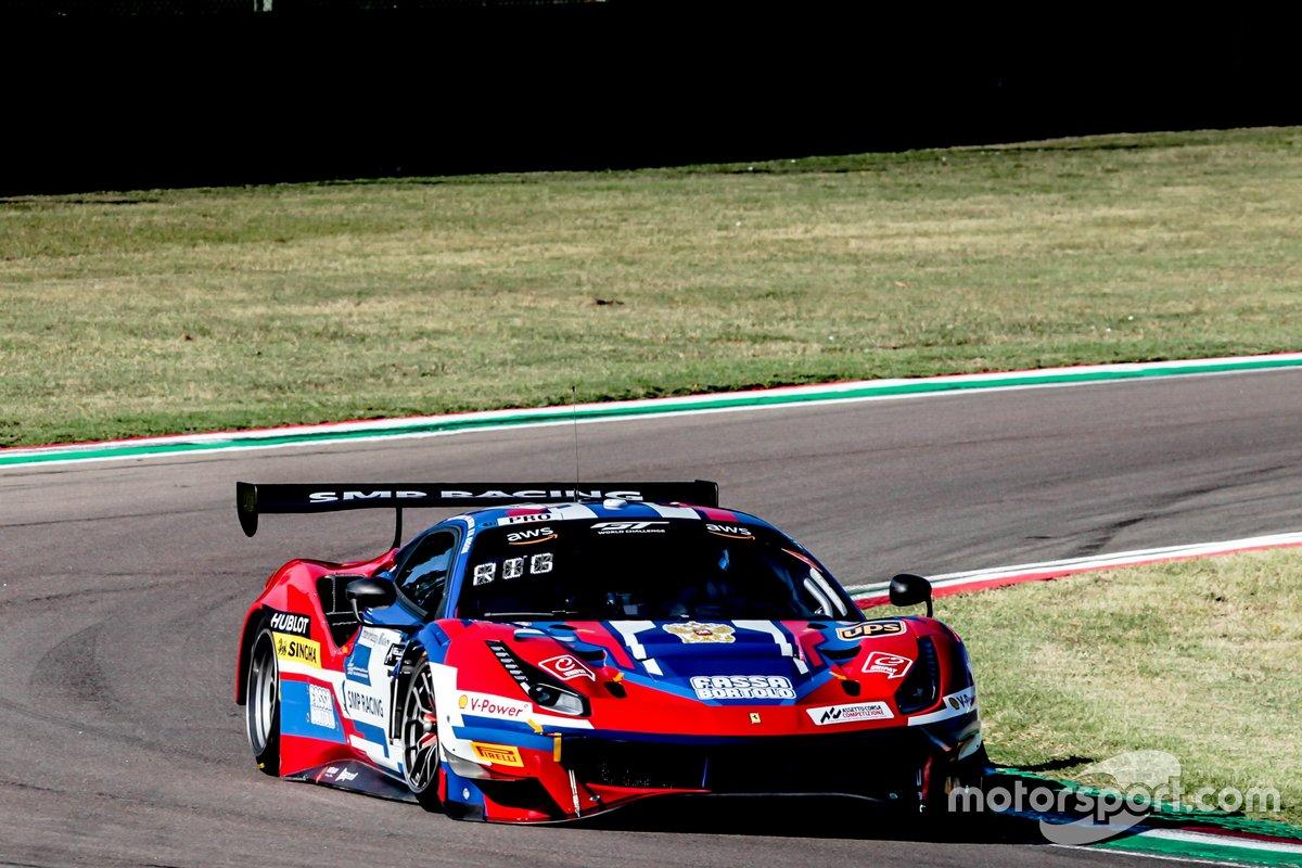 #72 SMP Racing Ferrari 488 GT3: Sergey Sirotkin, Davide Rigon, Miguel Molina