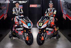 Marcel Schrötter e Sandro Cortese, Dynavolt Intact GP con il team